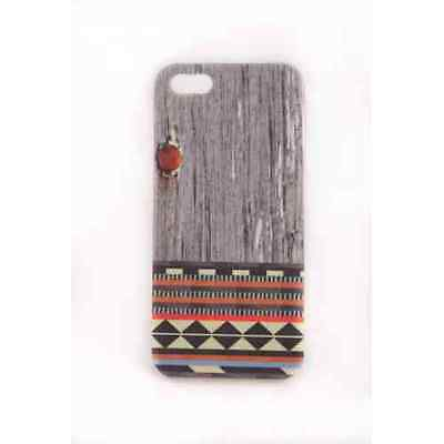 Coque iPhone 5C Wood Navajo Meat Japan - Gel ou Plastique (au choix)
