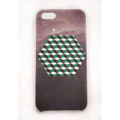 Coque iPhone 5 5S SE Green Cube Japan Meat Japan - Plastique