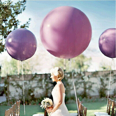 "3X 36 ""Inch Giant Big Ballon Latex Anniversaire Fête de mariage Helium Decor9-HK"