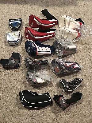 Lot Of 15 Golf Headcovers