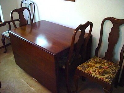 Pennsylvania House Cherry Dining Set- Table, 6 Chairs and China Hutch- 1968