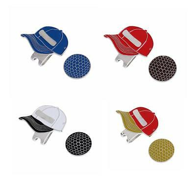 Magnetic Hat Clip + Golf Ball Marker - For Golf Hat or Visor
