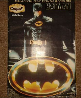 Complete Album Stickers Batman 1989 Carlos V