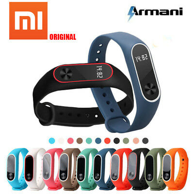 Original Silicon Wrist Strap WristBand Bracelet Replacement for XIAOMI MI Band 2