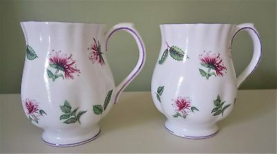 Royal Albert Remedy Teas Bergamot Tea Cups Mugs Set of 2 Mugs