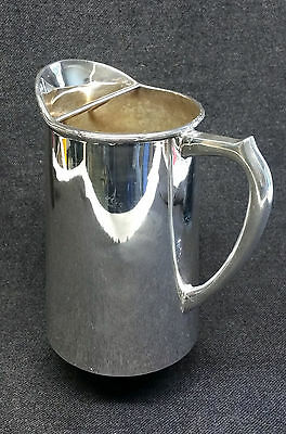 """Vintage """"Perfection"""" Silver Plated Iced Water Pitcher / Jug EPNS A1"""