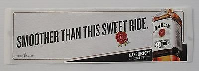 Jim Beam Bourbon brand new sweet ride sticker decal for home bar pub collector