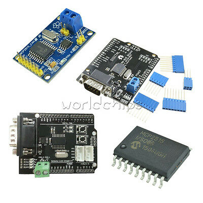 MCP2515 EF02037 TJA1050 CAN Bus Shield Receiver SPI Controller IC for Arduino