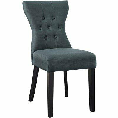 Super Modway Silhouette Tufted Upholstered Fabric Parsons Dining Creativecarmelina Interior Chair Design Creativecarmelinacom