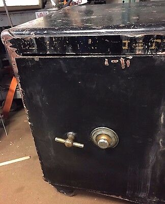 D.O. Paige's Antique Safe Marked 1886 Sargent Greenfield Dial