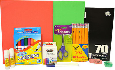 Elementary Kit (3rd-5th) WHOLESALE BACK TO SCHOOL SUPPLY KITS BY THE CASE