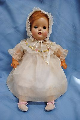 "Vintage Horsman 1950 Cry Baby 18"" Doll Wind Up Key/Knob"