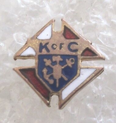 Vintage Knights of Columbus Member Tiny Tie Tack or Pin-K of C