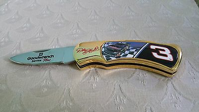 Dale-Earnhardt-Sr #3-Goodwrench Service Plus-Folding-Knife-Collectible-NEW