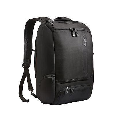 eBags Professional Slim Laptop Backpack Solid Black NO TAX