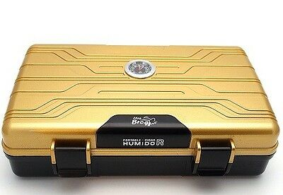Best Cigar Case Travel Humidor Carrying Portable Plastic Airtight Waterproof Box