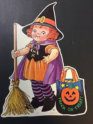 Campbell's Soup Company CAMPBELL KIDS Cardboard Advertising Cut-Out 1993 Witch