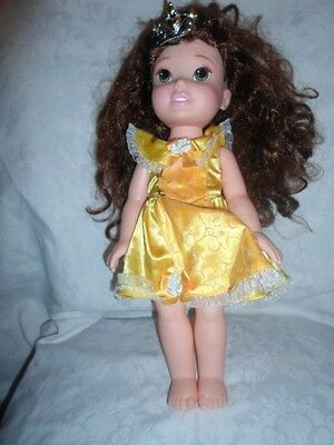 """Disney Beauty and the Beast Belle 15"""" Articulated Doll Heavy Duty Princess"""