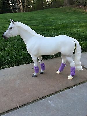 Model horse leg wraps polo wraps Breyer Traditional 1:9 scale