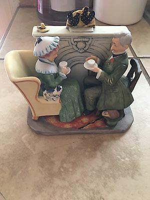"""Norman Rockwell """"Vintage Times"""" Figurine From The Gift World of Gorham"""