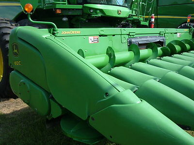 2012 John Deere 612C Headers