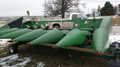2007 John Deere 693 Headers