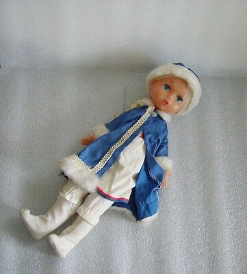 Vintage Snegurochka Soviet Doll,igrushka(Ленигрушка) Factory,russia/ussr-Damaged