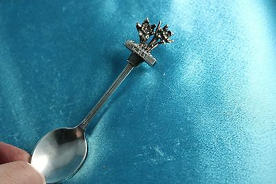 Vintage Silverplate Wales Souvenir Spoon