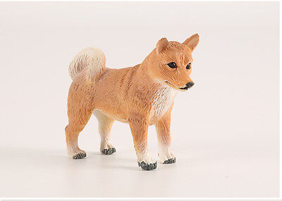 Cute pets Shiba Inu Japan Dog Figurine Model Decoration figure Toy Statue