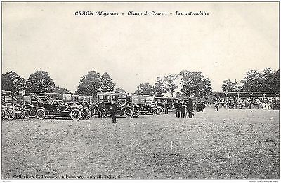 53-Craon-Champ De Courses-Les Automobiles-N°R2044-G/0009