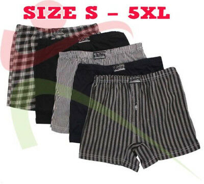 6 12 Packs Mens Value Classic Sport 1 Button Fly Boxers Jersey Underwear Briefs