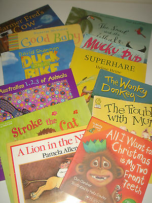Bulk Lot 12 Picture Books - Quality Titles & Authors L@@K - Wonkey Donkey +