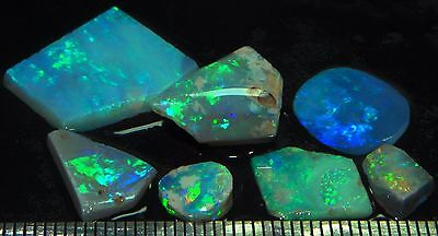 #Opalumia# 17ct Black Opals Rubs Rough parcel lot Ridge Australian opale noire