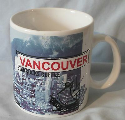Starbucks Mug 1999 City Series Mug Vancouver 20 oz