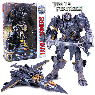 Transformers 5 Movie The Last Knight Megatron Action Figures Premier Edition Toy