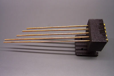 NEW WESTMINSTER CLOCK CHIME RODS WTH BLOCK  -- movement service repair parts