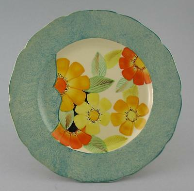 Vintage Grays Pottery Hand Painted Floral Plate / Charger A629 c.1940s - 27.5cm.