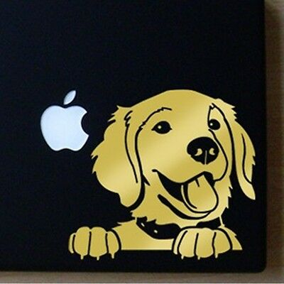 Golden Retriever Large Gold Decal by artist Ivy Bee- NEW - FREE SHIPPING ASAP