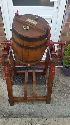 Very Decorative ,Antique,  Lister Butter Churn. Excellent Condition.