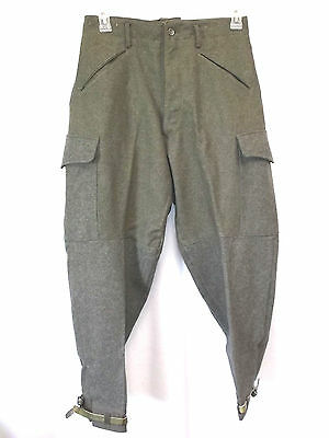 Swiss Military Men's Pants Size 32 Wool Dated 1940 CMA