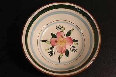 Vintage Stangl Coupe Cereal Bowl Country Garden Pattern