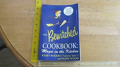 THE Bewitched Cook Book SIGNED!!!!! by both Kasey Rogers and Mark Wood!!!!