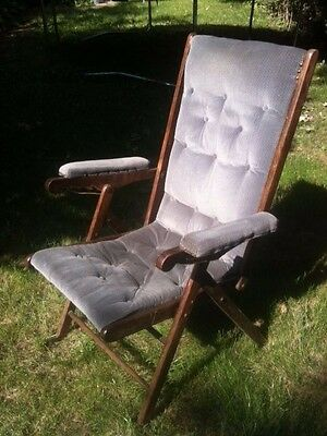 Edwardian Folding Campaign Chairs (Pair)
