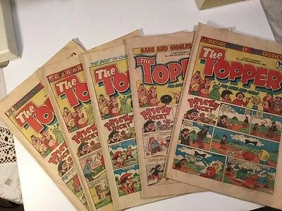 The Topper Comic - 5 Copies