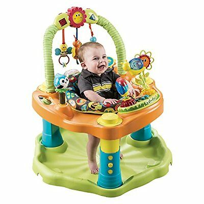 Evenflo ExerSaucer Double Fun Saucer Bumbly Activity Centers Baby Gear
