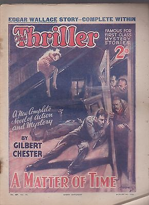 The Thriller No.287 Vol.11 Gilbert Chester novel