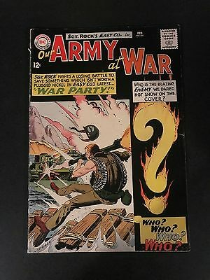 Our Army at War 151 1st Enemy Ace SGT Rock Kubert Art CGC CBCS It!