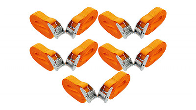 "ABN Lashing Straps with Carry Bag 1"" Inch x 12"" Foot 10-Pack"