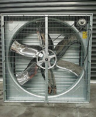 Extraction 50 inch Industrial  Fan 3 Phase Extraction Fan spary booth fan