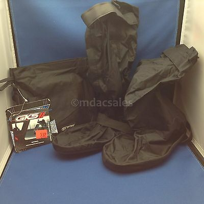 New! GANKA GKS MOTORCYCLE RAIN BOOT COVER , 1 PAIR, SIZE XS